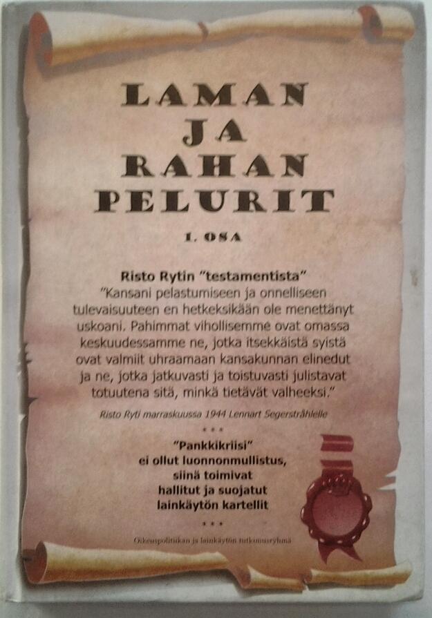 Suomen oma pankkilähihistoria päivänvaloon.