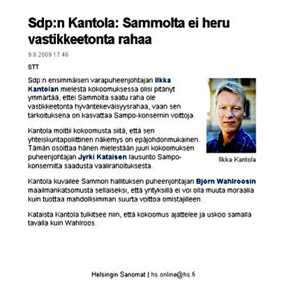 Miksi sdp hyväksyi Sampoa suosivan kahden lääkärin loukku - lakipaketin läpimenon 2003-2007?