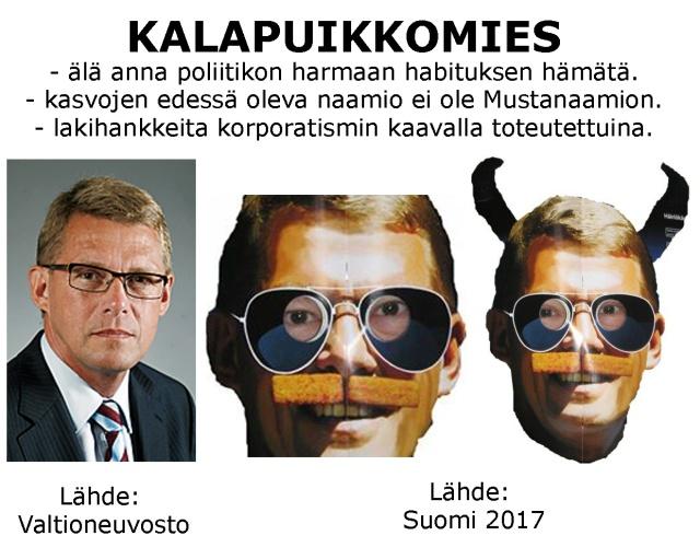 Ex - pääministeri Matti Taneli Vanhanen avaamaan korporatismi koneistomme?