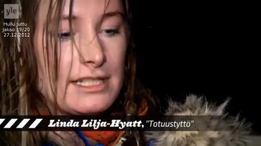 Totuustyttö Linda Lilja-Hyatt peräänkuuluttaa toimivan varajärjestelmän perään.