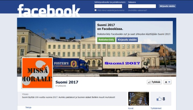 Minkälaisissa tunnelmissa Suomen 100-vuotis merkkipäivää juhlitaan?
