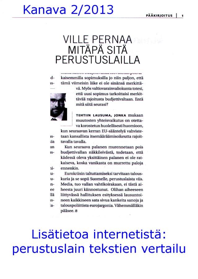 Suomi on jo EU-liittovaltion osavaltio. Koska tilanteesta kerrotaan suomalaisille?