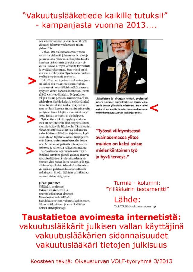 MOT 1999 Vakuutuslääketiede - Lääkärietiikan aivotärähdys