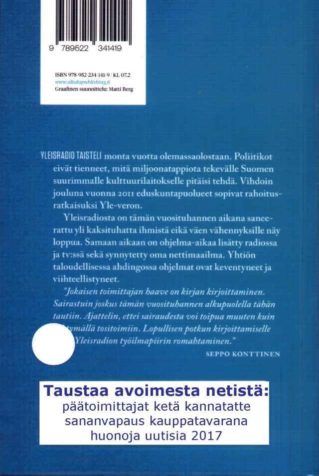 Seppo Konttinen, Suora lähetys - Tosiasiaa Yleisradiosta