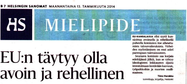 Vihreiden riveistä sdp:hen siirtynyt, toimittaja Timo Harakka.