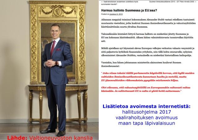 Avoin Suomi 2014 toteutumassa myös todellisuudessa?