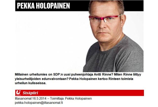 Isot rispektit Iltasanomien toimittajalle, joka seurasi tapausta yli 7 vuoden ajan!