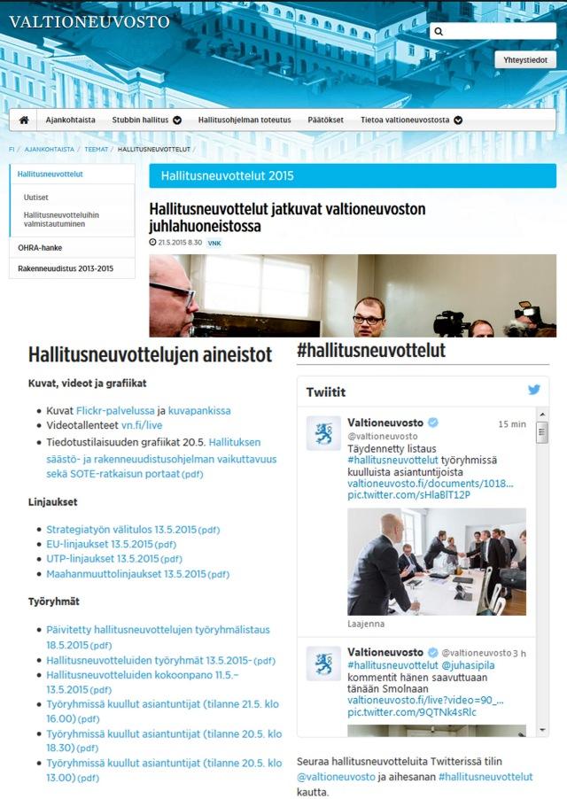 Lähde: Valtioneuvoston nettisivusto.