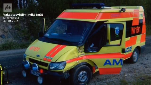 Tapaus_Silminnäkijä 30102014_Ambulanssi_Pekka Häkkinen