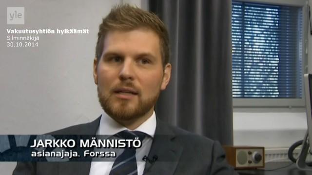 Tapaus_Silminnäkijä 30102014_Asianajaja Jarkko Männistö