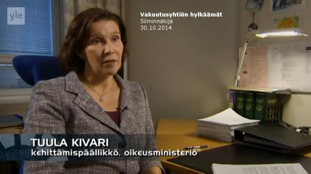 Tapaus_Silminnäkijä 30102014_Kehittämispäällikkö Tuula Kivari