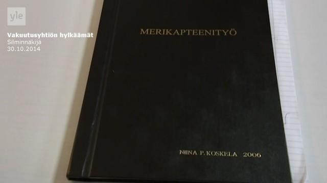 Tapaus_Silminnäkijä 30102014_Merikapteenityö_Niina P Koskela