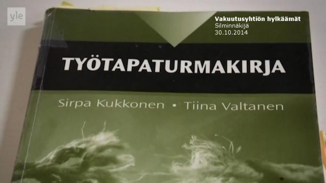 Tapaus_Silminnäkijä 30102014_Työtapaturmakirja 2_Niina