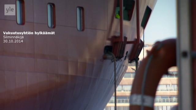Tapaus_Silminnäkijä 30102014_Viking Line_Laivan aukot_Niina P Koskela
