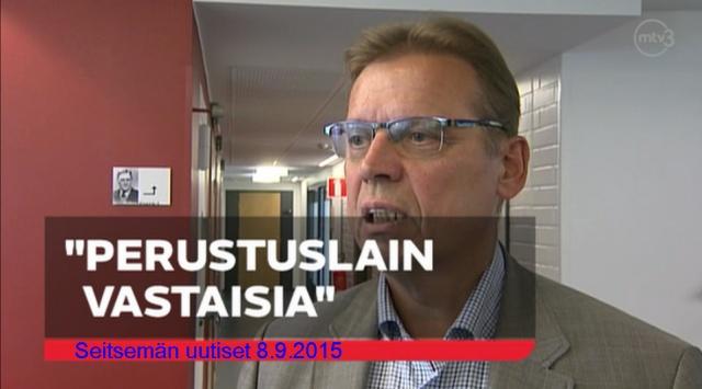 SAK:n puheenjohtaja Lauri Lyly; pääministeri Sipilän esittämistä toimenpiteistä.