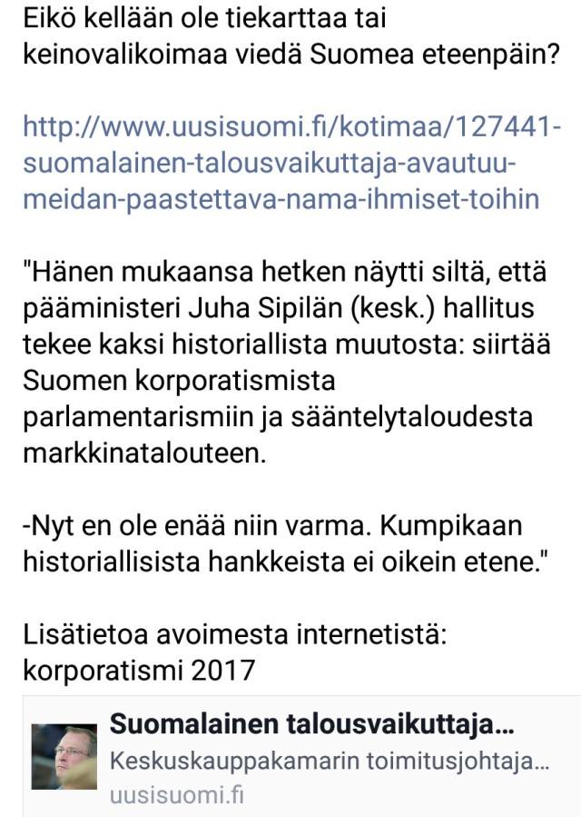 """Suomalainen talousvaikuttaja avautuu: """"Meidän on päästettävä nämä ihmiset töihin"""""""