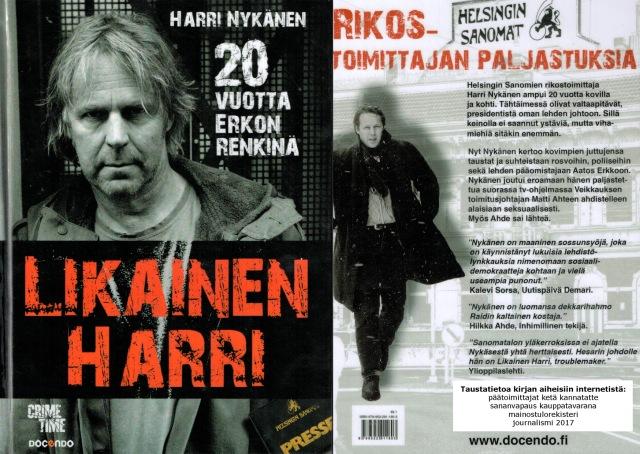 Mielenkiintoista ajankuvaa Helsingin Sanomien toimittajan työstä.