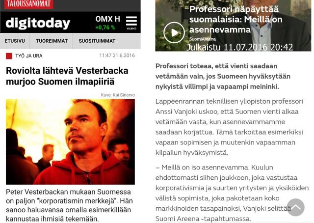 Taloussanomat ja MTV uutiset avaamaan isoa kuvaa?