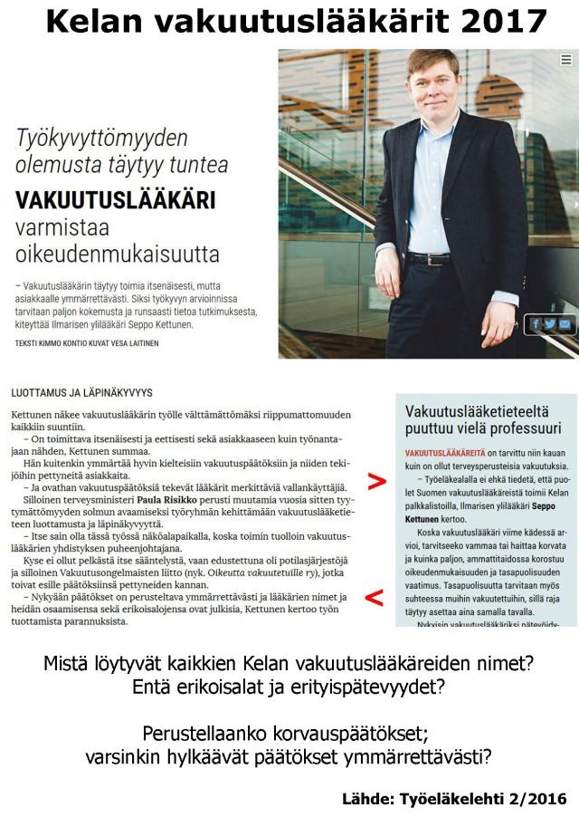 Yksityinen Ilmarinen havittelemassa Kelan yksityistämistä?